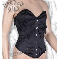 gorset LIVING DEAD SOULS (BLACK) (CR7001) [LIVING-119]