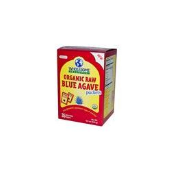 Wholesome Sweeteners, Inc., Organic Raw Blue Agave Packets, 35 Packets, 7 g Each
