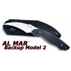 Al Mar Backup Model 2 Hawkbill Fixed w/ Sheath BU2-2