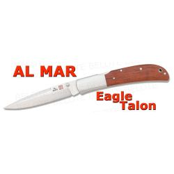 Al Mar EAGLE TALON Cocobolo Folder w/ Pouch 1005CT NEW