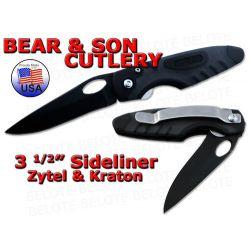 """Bear & Son 3.5"""" Zytel / Kraton Sidliner Plain 7404T NEW"""
