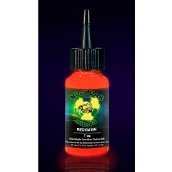 Mom's Nuclear Colors RED DAWN Neon Tattoo Ink 1/2oz Tattoo Supply
