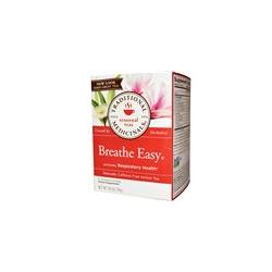 Traditional Medicinals, Breathe Easy Herbal Tea, Caffeine Free, 16 Wrapped Tea Bags, .85 oz (24 g)
