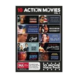 Action Movies Pack Vol 3 (Strategic Command/Freedom Strike/Coyote Run/Blood Money/Scanner Cop/Black Thunder/Maximum Security/Black Angel/Shootfighter