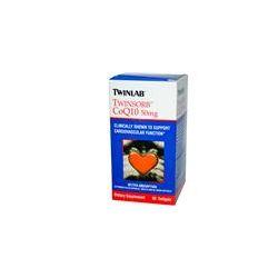 Twinlab, Twinsorb CoQ10, 50 mg, 60 Softgels