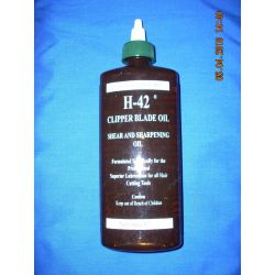 H-42 CLIPPER BLADE OIL,SHEAR AND SHARPENING OIL, 8 OZ.