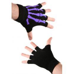 rękawiczki SKELETONS HAND bez palców