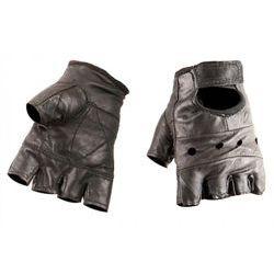 rękawiczki SKÓRZANE bez palców