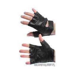 rękawiczki SKÓRZANE bez palców [REK-004]