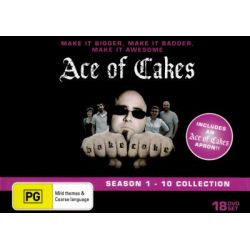 Ace Of Cakes Complete Collection Season 1-10
