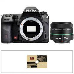 Pentax K-5 II DSLR Camera (Black/35mm Lens/Gift Card)
