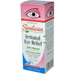 Similasan, Irritated Eye Relief, Sterile Eye Drops, 0.33 fl oz (10 ml)