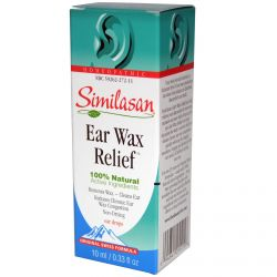 Similasan, Ear Wax Relief, Ear Drops, 0.33 fl oz (10 ml)