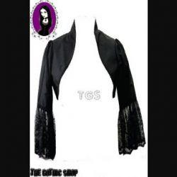 Alternative Black Shrug Bolero Jacket