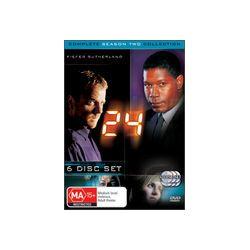 24 - Complete Season 2 Collection (6 Disc Set)