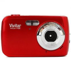 Vivitar ViviCam 7122 Digital Camera (Red)V7122-RED B&H Photo