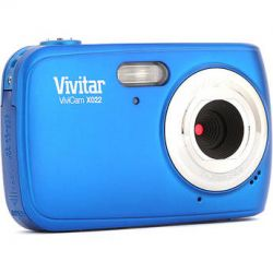 Vivitar ViviCam X022 Digital Camera (Blue)VX022-BLU B&H Photo
