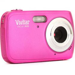 Vivitar ViviCam X022 Digital Camera (Pink)VX022-PNK B&H Photo
