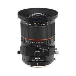 Bower 24mm f/3.5 ED AS UMC Tilt-Shift LensSLY24TSN B&H Photo