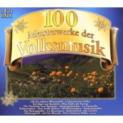 Various - 100 Meisterwerke der Volksmusik - Delta Entertainment CD Sampler Grooves Inc.