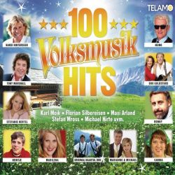 Various - 100 Volksmusik Hits - Telamo CD Sampler Grooves Inc.