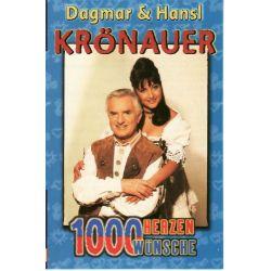 Dagmar Krönauer & Hansl - 1000 Herzen,1000 Wünsche - Tyrolis Music MusicCassette Grooves Inc.