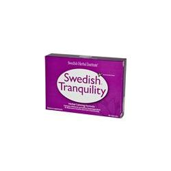 Swedish Herbal Institute, Swedish Tranquility, Herbal Calming Formula, 40 Capsules - iHerb.com