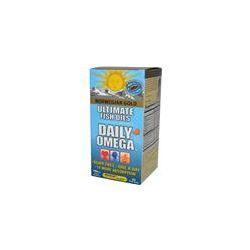 Renew Life, Norwegian Gold, Ultimate Fish Oils, Daily Omega, Natural Orange Flavor, 60 Fish Gels - iHerb.com