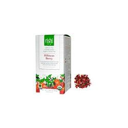 Rishi Tea, Organic Herbal Tea, Loose Leaf, Caffeine Free, Hibiscus Berry, 2.82 oz (80 g) - iHerb.com