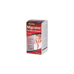 Natural Care, Migraine, For Men and Women, 60 Capsules - iHerb.com