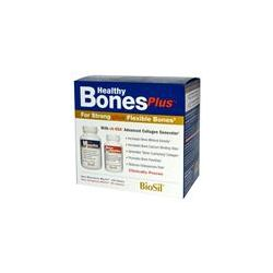 Natural Factors, BioSil, Healthy Bones Plus, Two-Part Program - iHerb.com