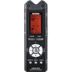 Nagra MEZZO Portable Digital Recorder with Built-In Stereo MEZZO