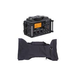 Tascam DR-60D 4-Channel Digital Recorder and Rain Slicker Kit