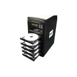 Hamilton Buhl 1:5 CD/DVD Duplicator with LCD Screen HB125 B&H