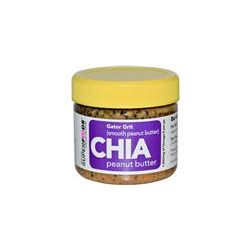 New York Superfoods, Inc., Chia Peanut Butter, Gator Grit (Smooth Peanut Butter), 2 oz (64 g) - iHerb.com