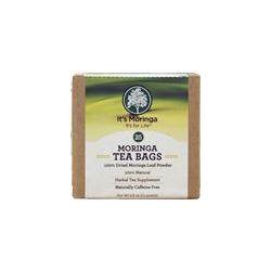 It's Moringa, Moringa Tea Bags, Caffeine Free, 25 Tea Bags, 2.6 oz (75 g) - iHerb.com