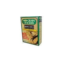 Hol Grain, Brown Rice Crackers, with a Light Touch of Salt, 4.5 oz (127 g) - iHerb.com