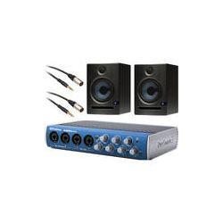 PreSonus AudioBox 44VSL Recording System with Eris E5 Monitors