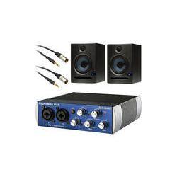 PreSonus AudioBox USB Audio Interface and Eris E5 Monitor Kit