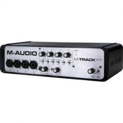 M-Audio M-Track Quad - USB Audio/MIDI Interface MTRACKQUADX110