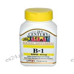 21st Century Health Care, B-1, 100 mg, 110 Tablets