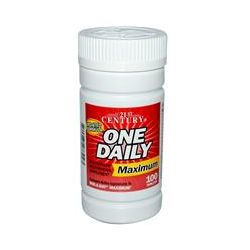 21st Century Health Care, One Daily, Maximum, Multivitamin Multimineral, 100 Tablets