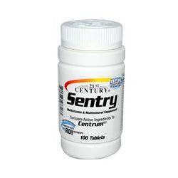 21st Century Health Care, Sentry, Multivitamin & Multimineral Supplement, 100 Tablets