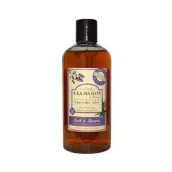 A La Maison de Provence, Bath & Shower Liquid Soap, Lavender Aloe, 16.9 fl oz (500 ml)