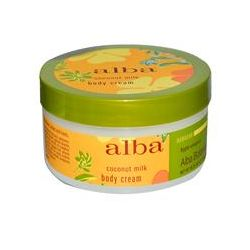 Alba Botanica, Body Cream, Coconut Milk, 6.5 oz (180 g)