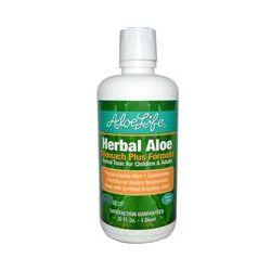 Aloe Life International, Inc, Herbal Aloe, Stomach Plus Formula, 32 fl oz (1 Quart)