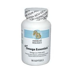 American Biologics, Ultra Omega Essentials, Omega 3, 6, 9 Fatty Acids, 90 Softgels