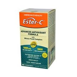 American Health, Ester- C, Advanced Antioxidant Formula with Whole Food Complex, 90 Veggie Tablets