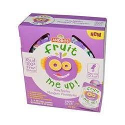 Andros Fruit Me Up!, Only Apples Mangoes Pineapple, 4 Pouches, 4 oz (113 g)