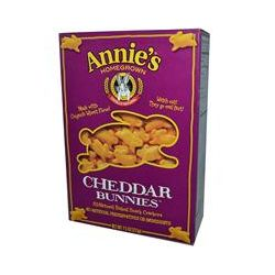 Annie's Homegrown, Cheddar Bunnies, Baked Crackers, 7.5 oz (213 g)
